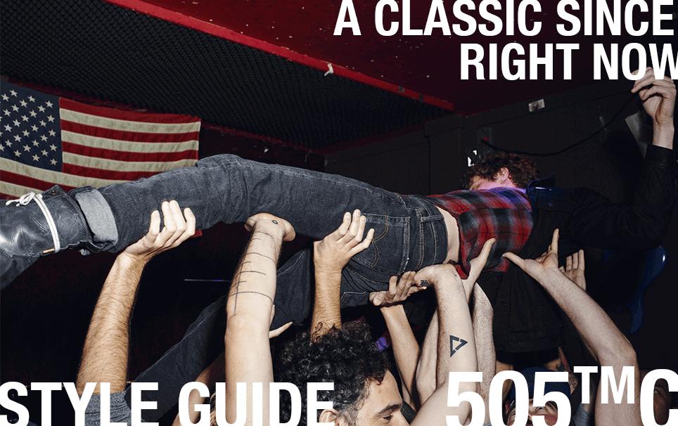 505™C denim jeans levi's