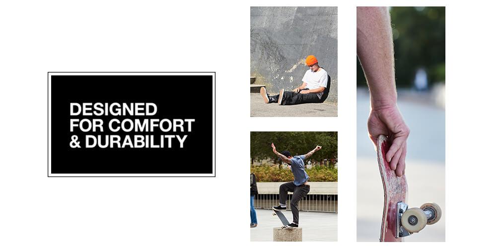 designed for comfort and durability levis skate skateboarding