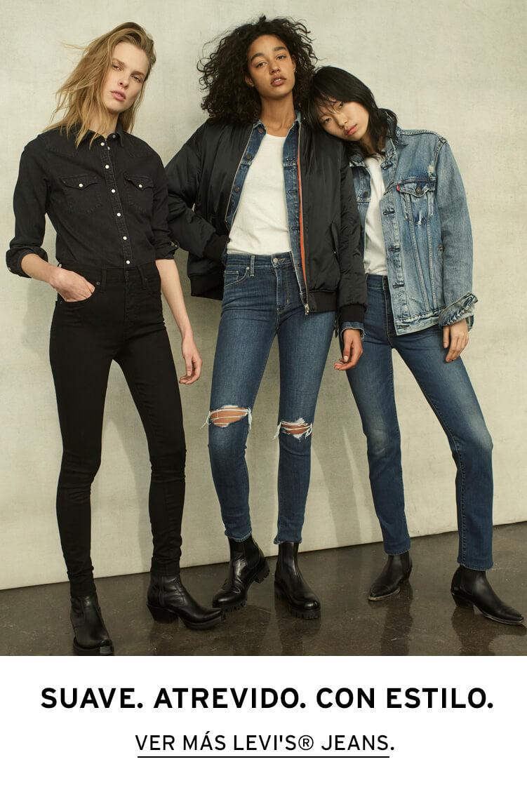 levis levi`s jeans mujer women skinny