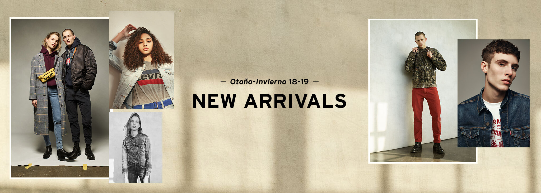 New arrivals 2018 otoño invierno fall winter hombre y mujer levis